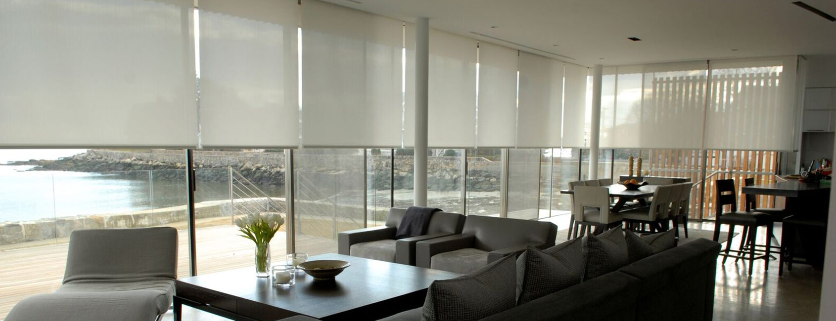 Lighting and Motorized Window Treatments