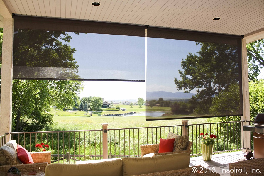 Retractable Insect Screens from Insolroll Protect You From Bugs, Sun